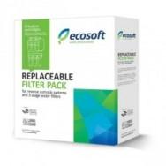 """Комплект картриджей 10"""" 1,2,3 ступ. Ecosoft (осмос) CHV3ECO для систем обратного осмоса"""