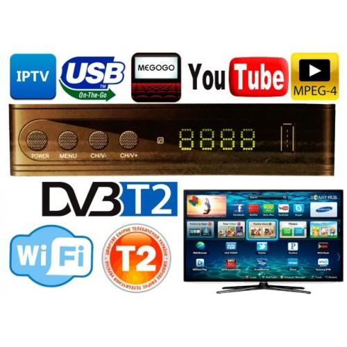 Цифровой ресивер эфирный DVB-T2+HD