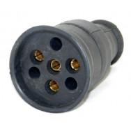 Гнездо силовое каучук 25А 380V tpelectric