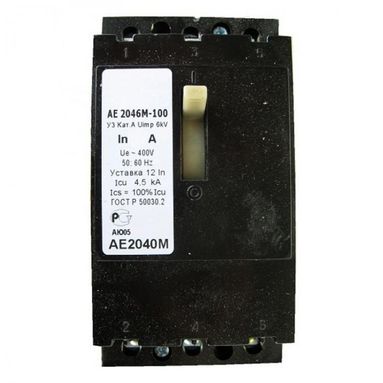 Выключатель автоматический АЕ2046-100-25А