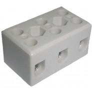 Клеммник керамический 3-line 30A
