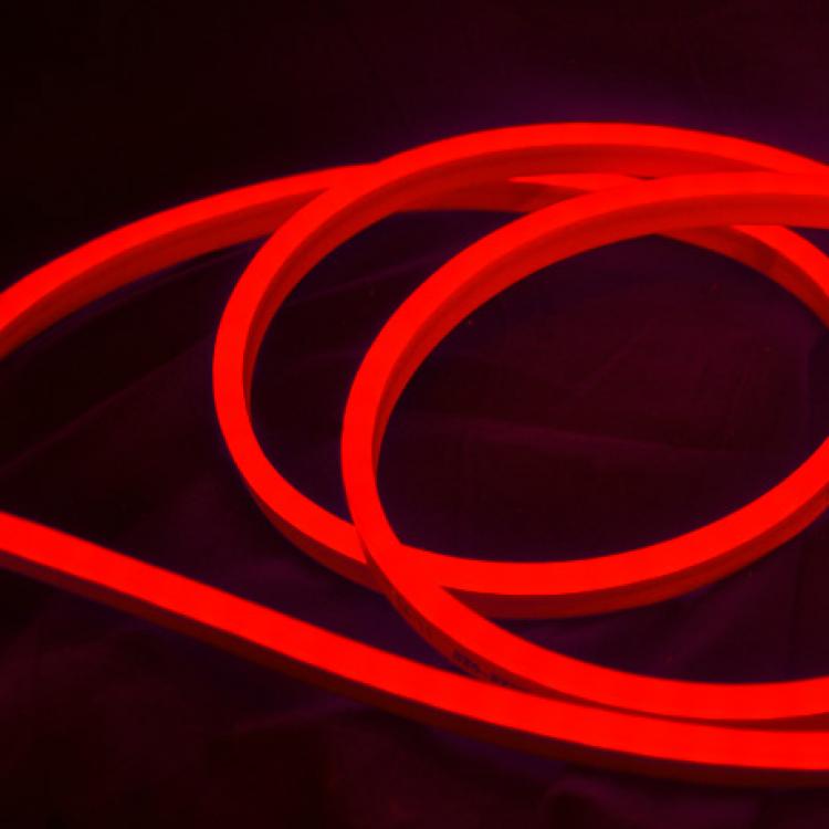 Светодиодный NEON SMD2835-120 8W красный 220В