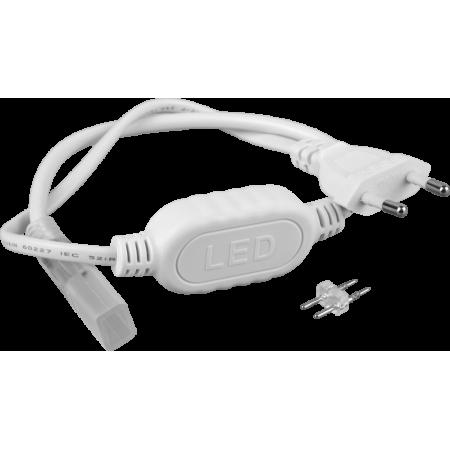Кабель питания для led NEON 220В 3528-120 8*16mm IP65 220В до 100м