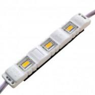 Светодиодный модуль 5630-3 led 1.5W 6500K 12В IP65 белый закрытый с линзой Biom