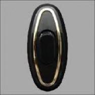Выключатель для бра ALFA (черный с золотым ободом)
