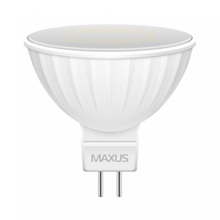 Cветодиодная лампа MAXUS 3W яркий свет MR16 GU5.3 220V (1-LED-144-01)