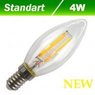 Светодиодная лампа Filament 4W E14 3000К BIOM FL-305