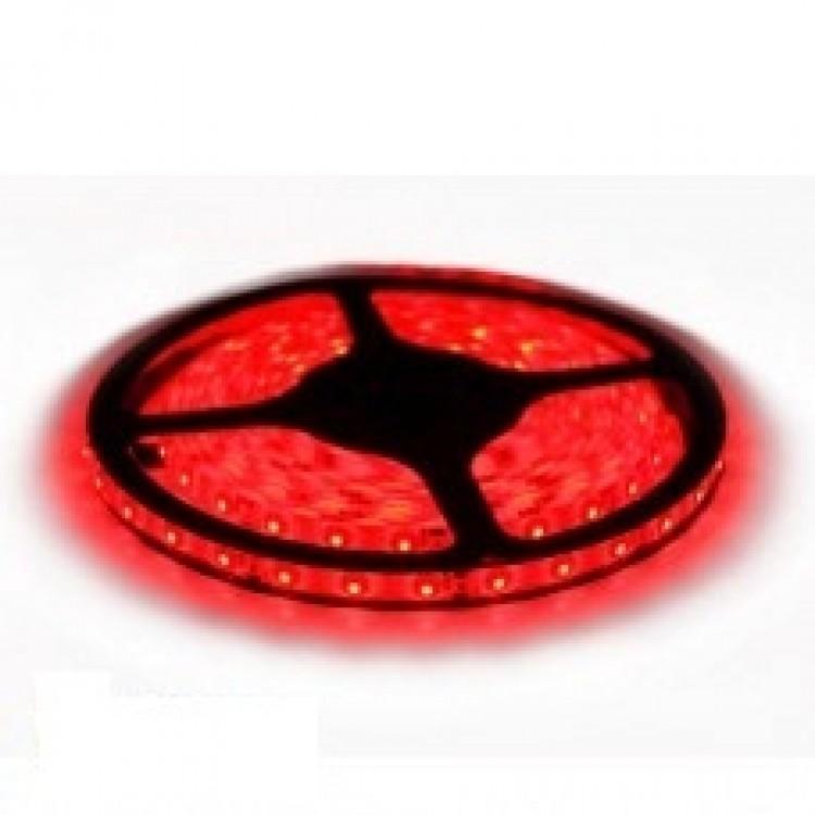 Светодиодная лента 12В B-LED 3528-60W красный, герметичная, 1м