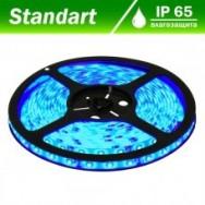 Светодиодная лента 12В B-LED 3528-60W синий, герметичная, 1м