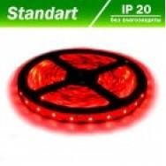 Светодиодная лента 12В B-LED 3528-60 W красный 1м