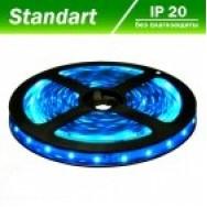 Светодиодная лента 12В B-LED 3528-60W синий, негерметичная, 1м