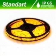 Светодиодная лента 12В B-LED 3528-60 W желтый, герметичная, 1м