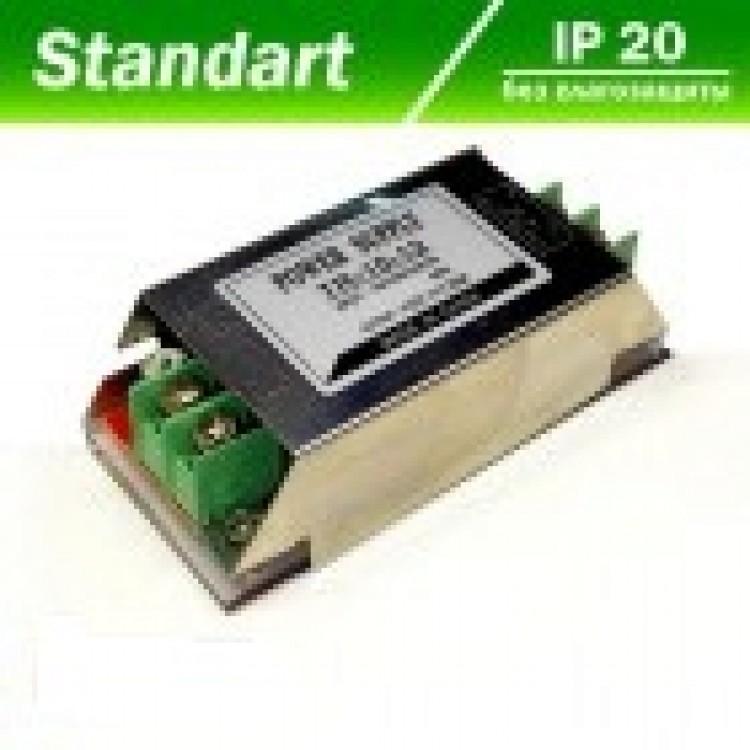 Блок питания для светодиодной ленты 12V 36W перфорированный
