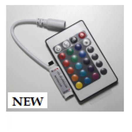 RGB контроллер 6А-IR-24-MINI кнопки