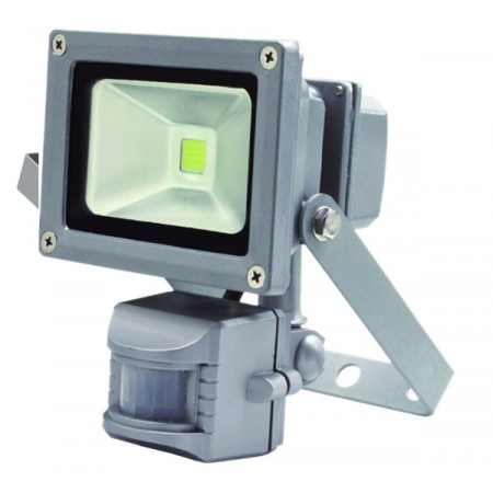 Прожектор светодиодный 10W с датчиком движения
