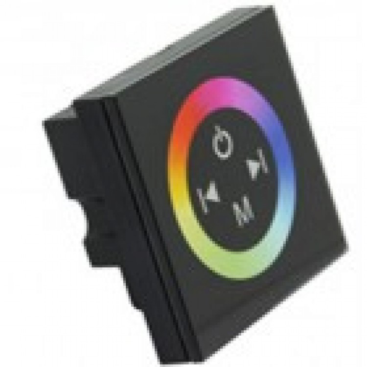 RGB контроллер 12A-Touch black встраиваемый