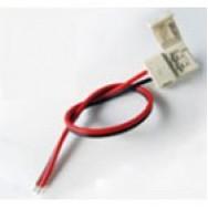 Коннектор для светодиодной ленты 8mm зажим-провод