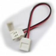 Коннектор для светодиодной ленты 10mm провод- два зажима