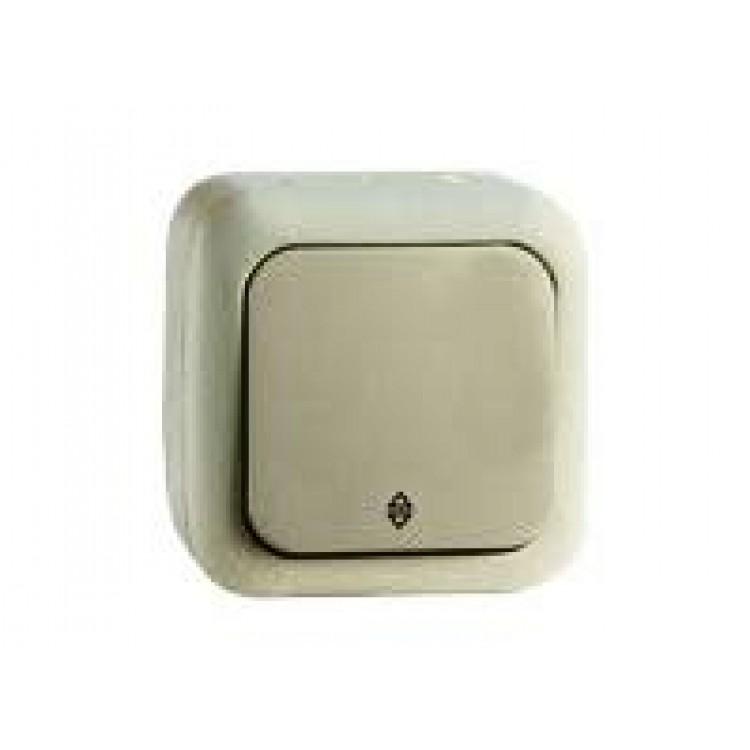 VIKO Palmiye Выключатель проходной одноклавишный накладной влагозащитный