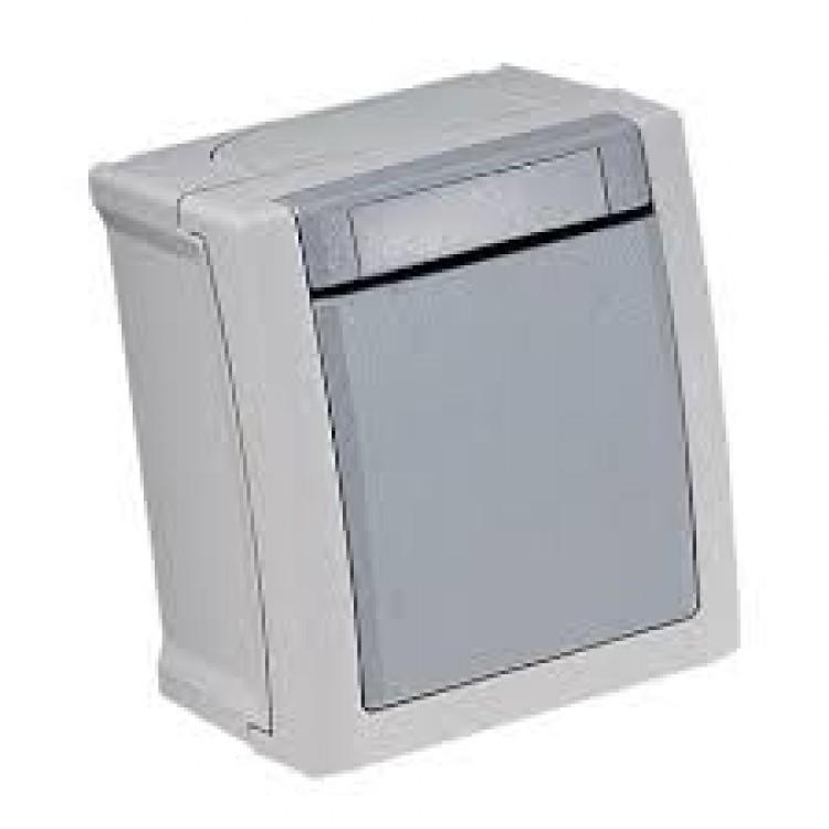 VIKO PACIFIC  Выключатель одноклавишный накладной влагозащитный